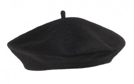 Berety - Wool Fashion Beret (czarny)