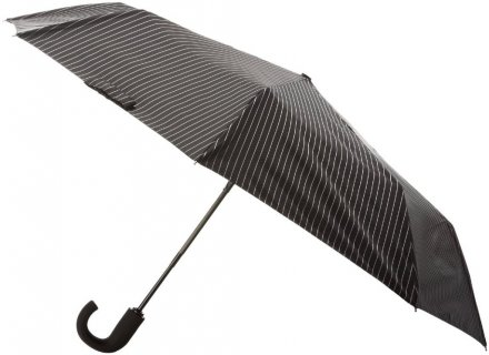 Parasol - Fulton Chelsea (City Stripe Black/Steel)