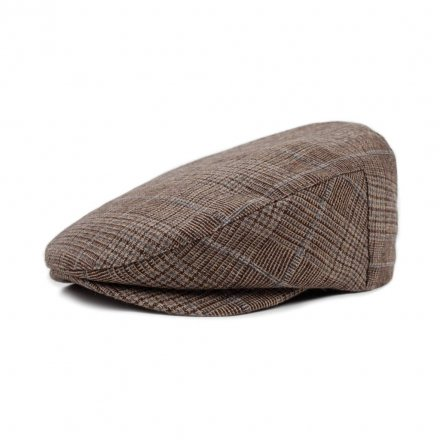 Kaszkiet - Brixton Barrel (brown plaid)