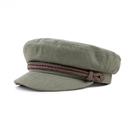 Fiddler cap - Brixton Fiddler (light olive/brown)