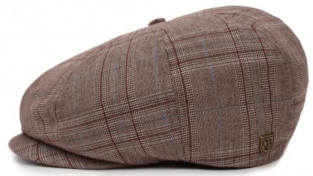 Kaszkiet - Brixton Brood (taupe plaid)