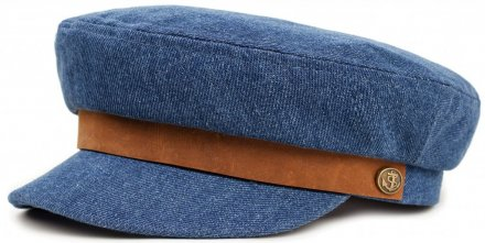 Fiddler Cap - Brixton Fiddler (light denim)