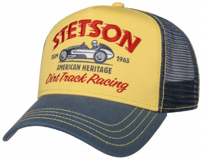 Caps - Stetson Trucker Cap Dirt Track Racing
