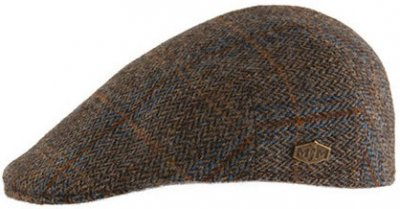 Kaszkiet - MJM Country Harris Tweed (brazowy)