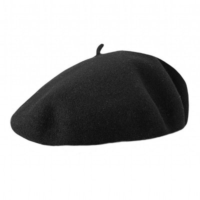 Basker - Jaxon Hats Basque Beret (svart)