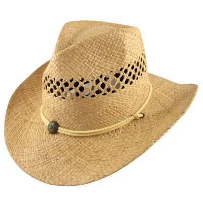 Kapelusze - Maggie May Cowboy Hat (naturalny)